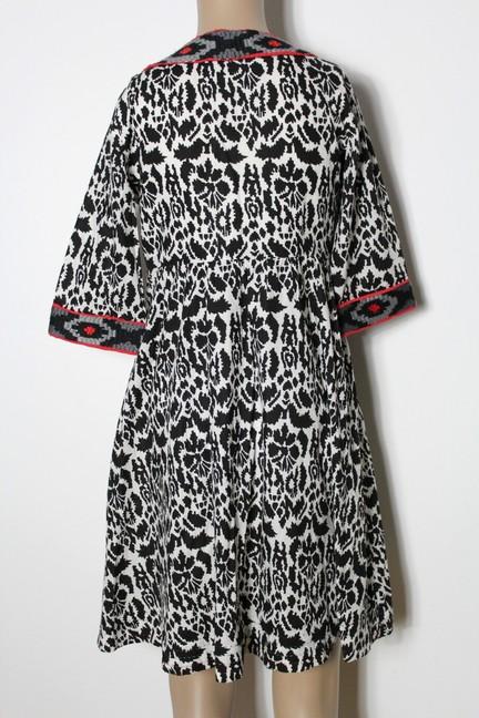 pepe jeans kleid gr s schwarz wei hippie ethno folklore empire muster kleid ebay. Black Bedroom Furniture Sets. Home Design Ideas