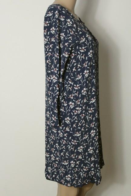 Größe 36-40 S L Suzanjas leichtes Sommerkleid schwarz mit Blumenaufdruck